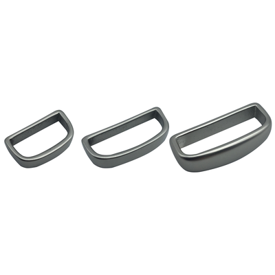 Solid Brass Bulk Keepers - Matte Nickel