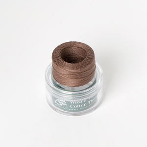 Waxed Cotton Thread Brown Middle 0.5mm