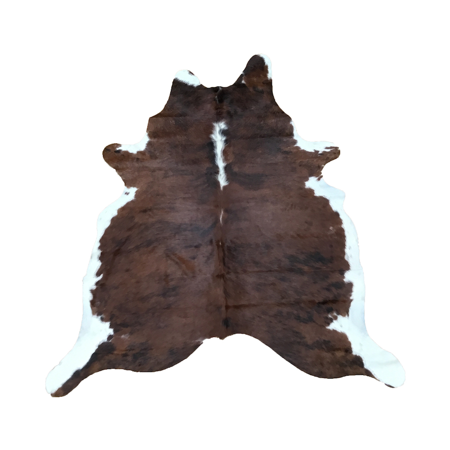 Cow Hide - Exotic White Belly - #201