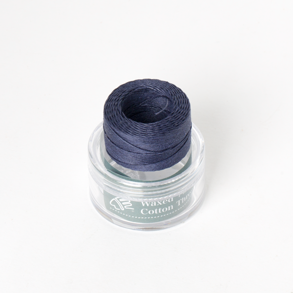 Waxed Cotton Thread Navy Blue Middle 0.5mm