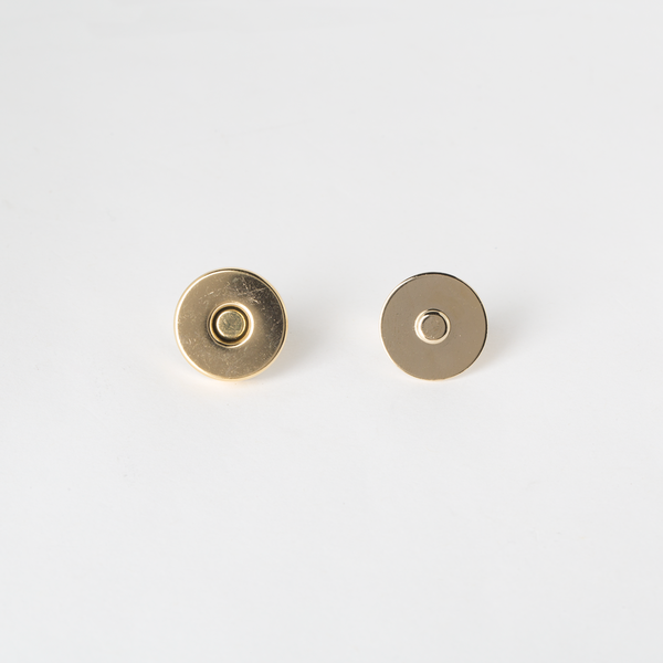 Magnetic Bag Clasp - Gold 18mm