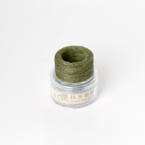 Waxed Thread Thin Moss 0.3mm