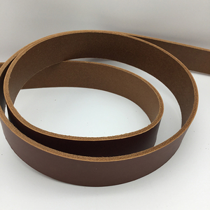 Vegetable Tanned Belt Blank - Tan