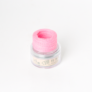 Waxed Thread Thin Pink 0.3mm