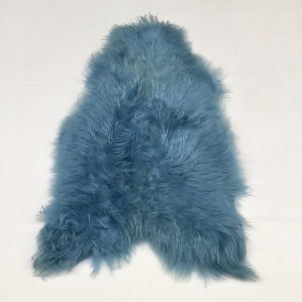 Blue Icelandic Sheepskin