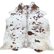 Cow Hide - Salt and Pepper Brown - #136