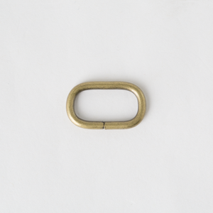 Oval Ring Antique Finish