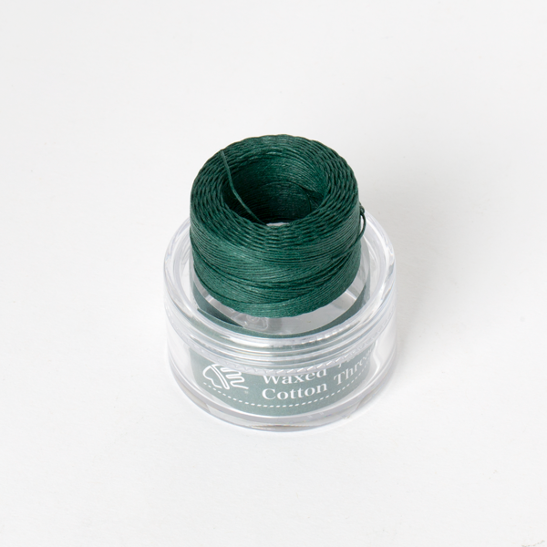 Waxed Cotton Thread Green Middle 0.5mm