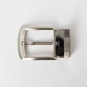 Bright Square Chamfer Clamp Buckle 3.5cm