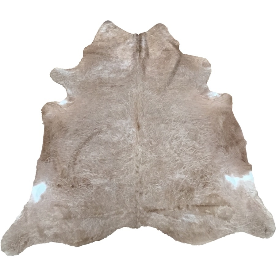 Cow Hide - Beige and Champagne - #174