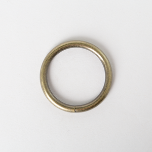 Round Ring Antique Brass Finish