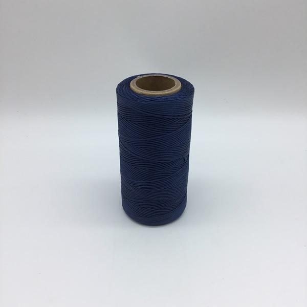 Heavy Waxed Polyester Thread - Dark Blue