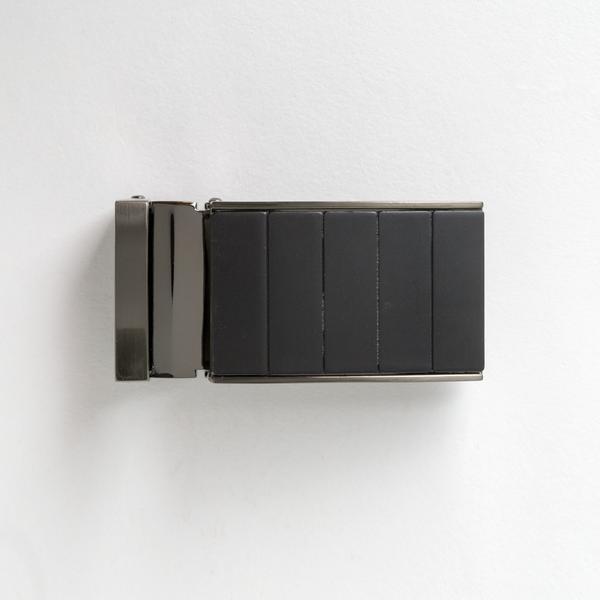 Black Panel Clamp Buckle 35mm