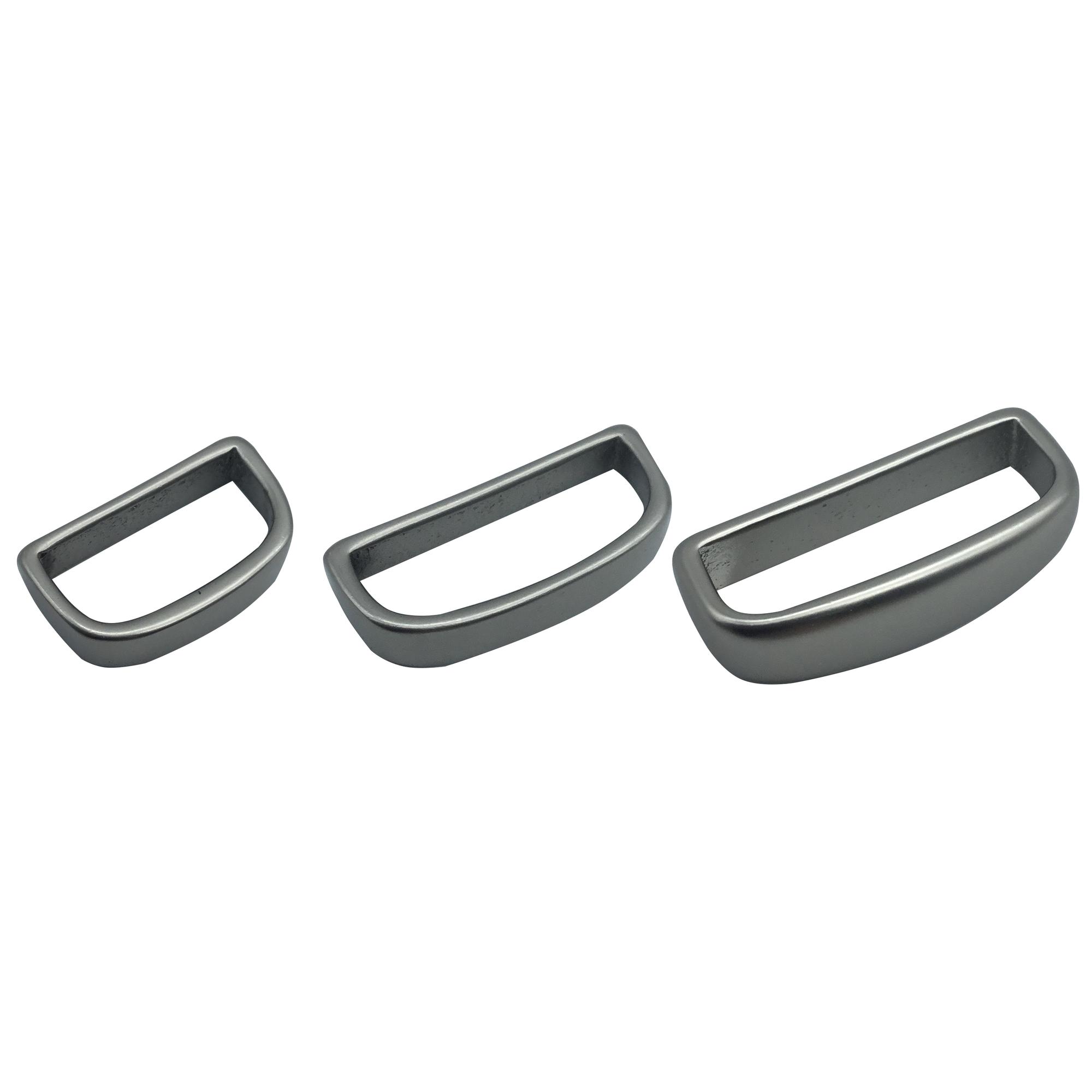 Solid Brass Bulk Keepers - Matte Nickel