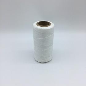 Heavy Waxed Polyester Thread - White