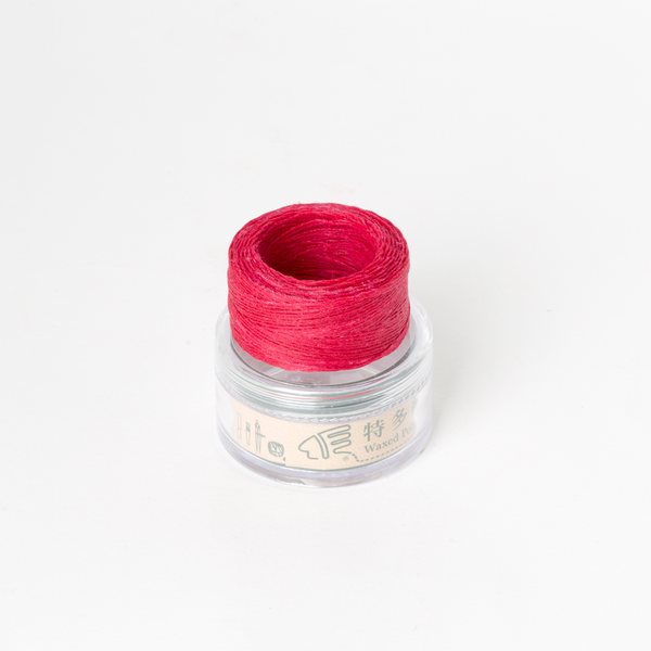 Waxed Thread Thin Peach 0.3mm