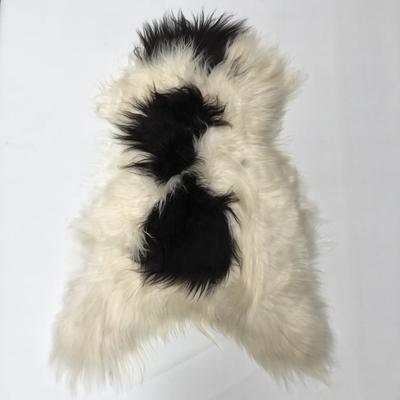 Premium Spotted Icelandic Sheepskin Rug - Large Size