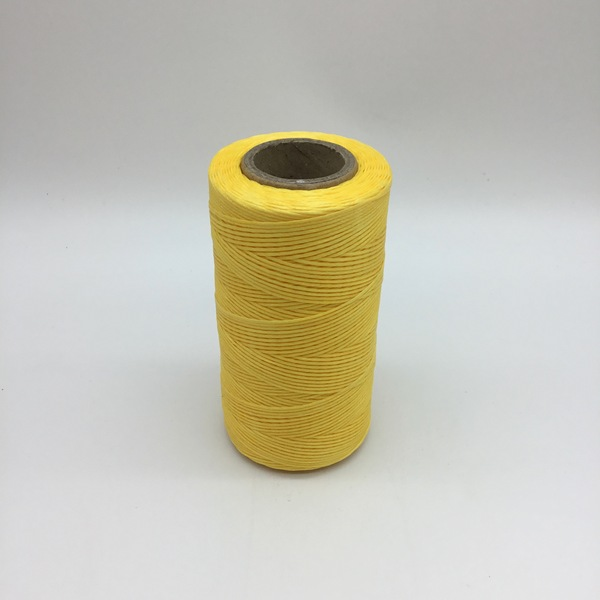 Heavy Waxed Polyester Thread - Yellow