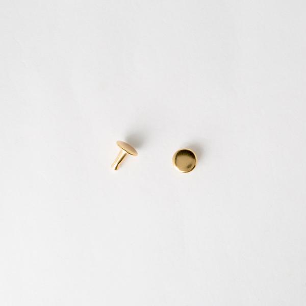 Gold Flat Rivets