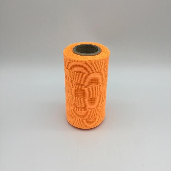Heavy Waxed Polyester Thread - Orange