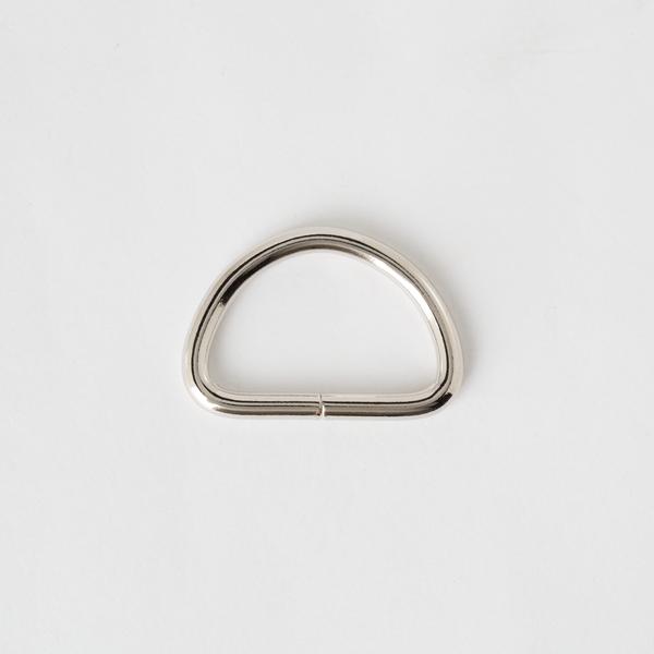 D-Ring Nickel Finish