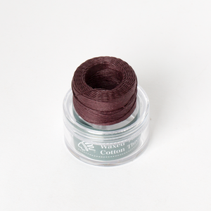 Waxed Cotton Thread Purple Middle 0.5m