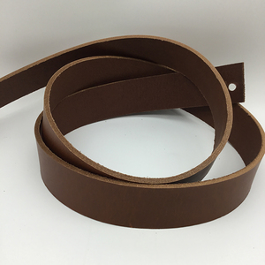 Vegetable Tanned Belt Blank - Tan Pull-Up