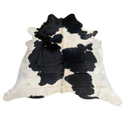 Cow Hide - Black and White - #107