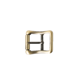 Solid Brass Strap Buckle - Antique Brass