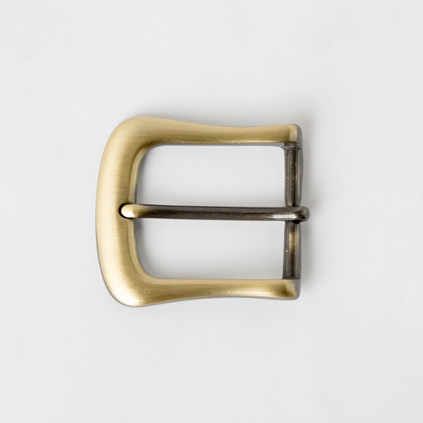 Rounded Wave Heel Bar Buckle