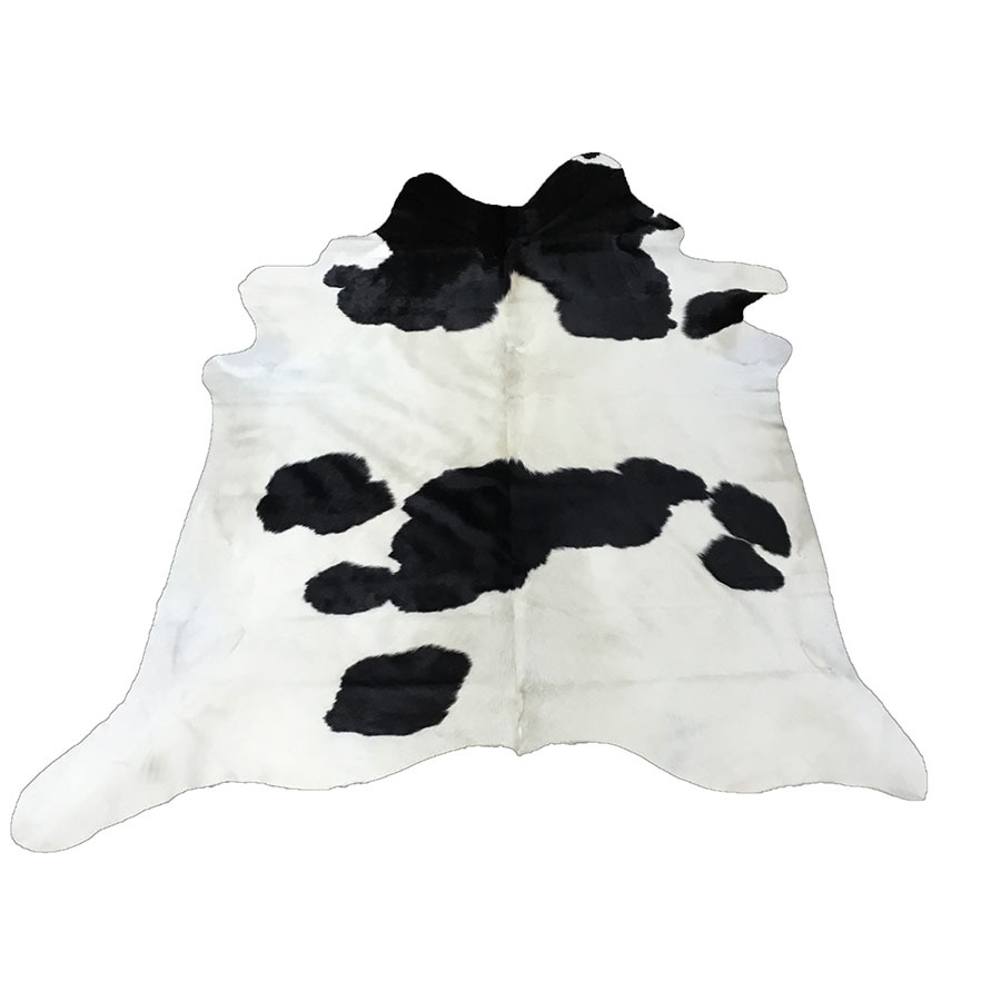 Cow Hide - Black and White - #101