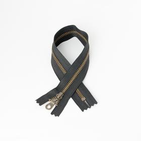 #3 Zipper Dark-Bronze Black 30cm