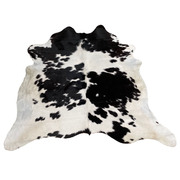 Cow Hide - Black and White - #108