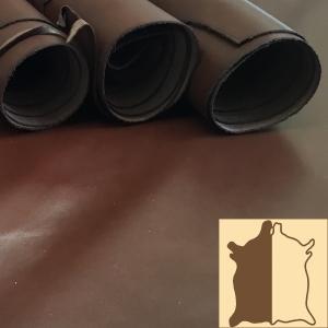 Dark Tan Yearling Leather
