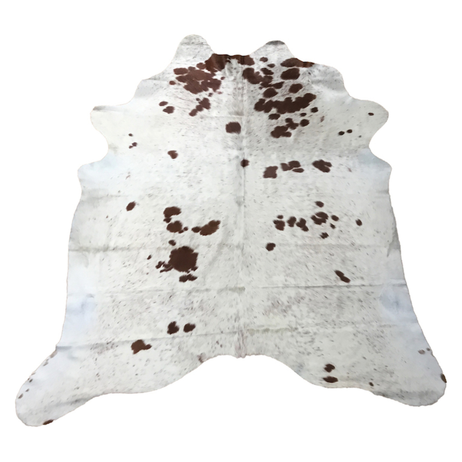Cow Hide - Salt and Pepper Brown - #137