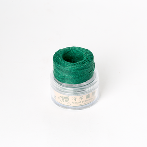 Waxed Thread Thin Green 0.3mm