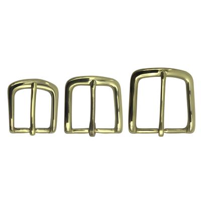 Solid Brass Bulk Buckle - Solid Brass