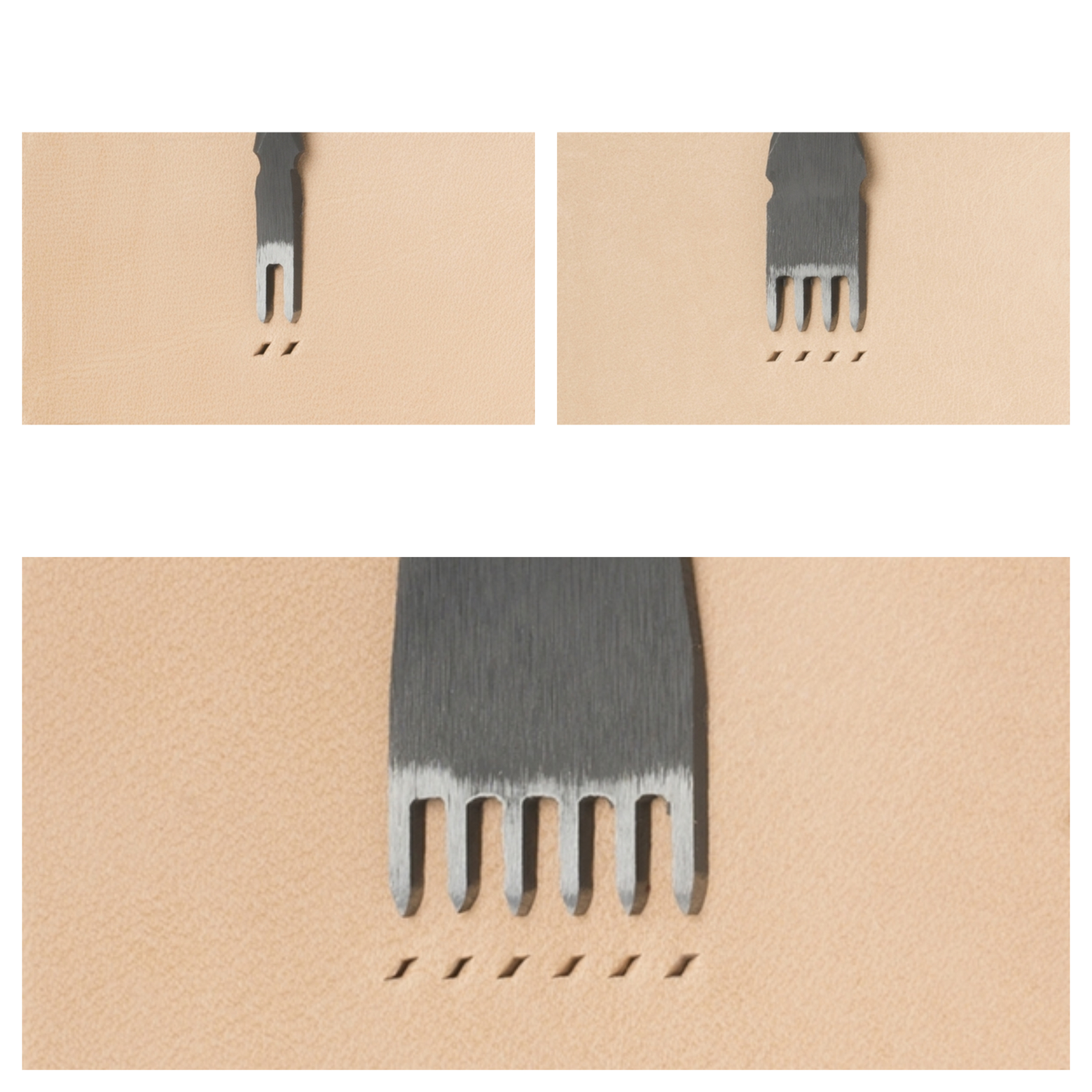 Japanese E European Style Chisel Width 1.2mm / Pitch 4mm