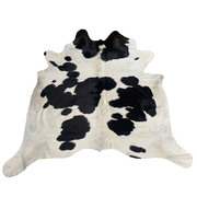Cow Hide - Black and White - #103