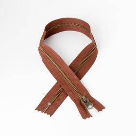#5 Zipper Dark-Bronze Coffee 45cm
