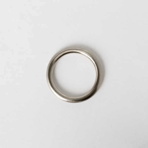 Solid Brass Round Ring Nickel Finish