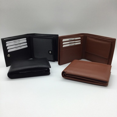 Men's Leather Wallet - Calf Skin