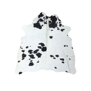Cow Hide - Black and White - #110