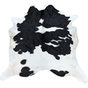 Cow Hide - Black and White - #106