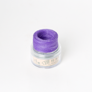 Waxed Thread Thin Purple 0.3mm
