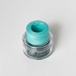 Waxed Cotton Thread Pink Blue Middle 0.5mm