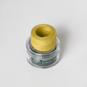 Waxed Cotton Thread Goose Yellow Middle 0.5mm