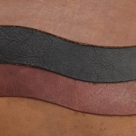 Upholstery Leather - Sterling Corrected Grain Cow and Buffalo, Cow Croco, New Zealand Hides.
