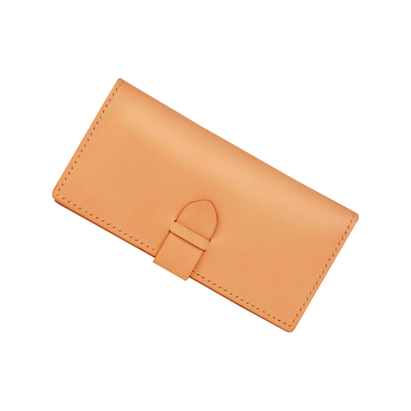 Hand-Sewing Long Wallet 19.8X18.6cm