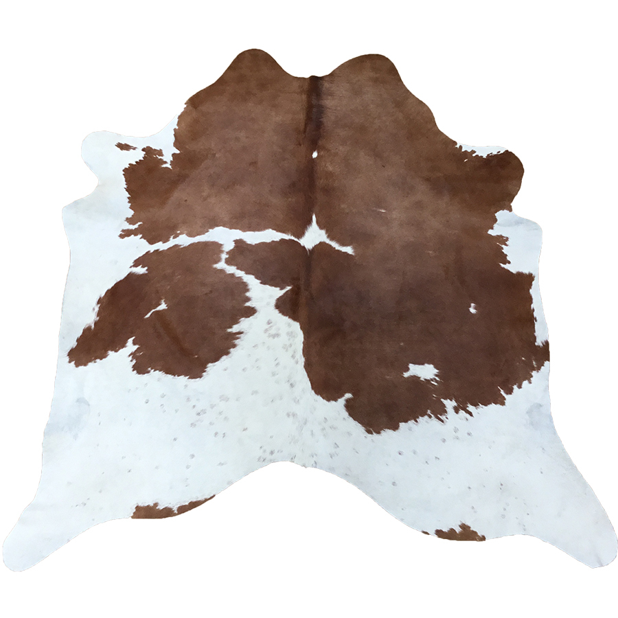 Cow Hide - Brown and White Special - #155